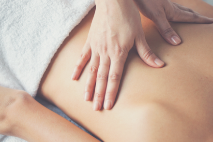 Sessions of a pleasing massage