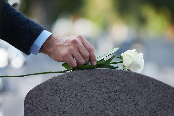 funeral service ajax